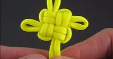 Apprenez à faire un noeud chinois de la chance! 2 tutoriels