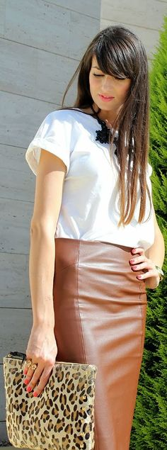 #pencil #skirt by Angeles y Diablillos