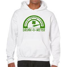 DRUNK-O-METER (UNISEX HOODIE)