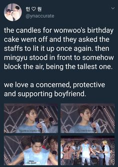 I love protective, concerned and supporting Gyu