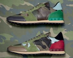 """""""Valentino"""" Camouflage Collection"""