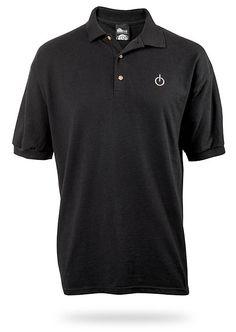 ThinkGeek :: Power Polo Shirt    B?