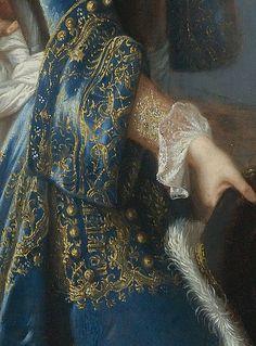 Portrait of Louis Alexandre de Bourbon, légitimé de France, comte de Toulouse by François de Troy, date unknown (detail)