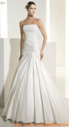 6214  Vestido de Novia  White One