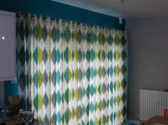 Fab curtains by William Charles Interiors using our Alderley fabric in colourway Teal from our Delemere collection! Prestigious Textiles, Upholstery, Teal, Interiors, Curtains, Living Room, Projects, Fabric, Collection