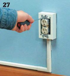Instalaciones eléctricas residenciales - Reinstalando contacto original