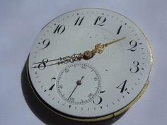 Antikes Taschenuhrwerk aus Goldschmelze-TAU rare clockwork f. project