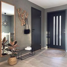 7882 Likes 102 Comments Malene Foss ( Entryway and Hallway Decorating Ideas Comments concrete Fos Foss husefjel Likes Malene Decor Room, Living Room Decor, Bedroom Decor, Home Decor, Bedroom Furniture, Hallway Decorating, Entryway Decor, Entryway Ideas, Decorating Blogs