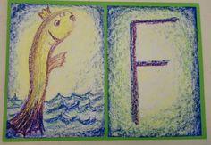 Waldorf class 1 alphabet card