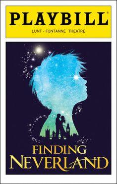 Finding Neverland Playbill - Opening Night