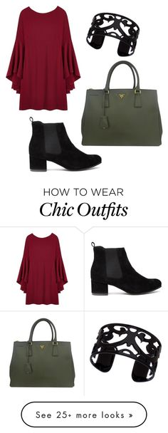 """boho chic."" by staceynicole15 on Polyvore featuring Prada and Lisa August"
