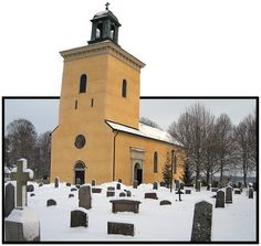 The old church by Steffe, via Flickr ~ Sweden