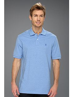 IZOD Short Sleeve Oxford Pique Polo Shirt