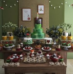imagem9 Baby Shower, Planter Pots, Cake, Desserts, Themed Parties, Decorating Ideas, Simple Style, Stars, Character