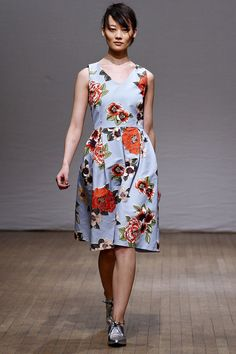 LOOK9  FALL 2013 READY-TO-WEAR  Clements Ribeiro