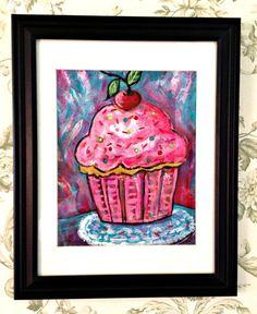 Pink Cupcake Love