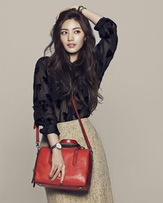 After School's Nana for Fossil Spring 2015