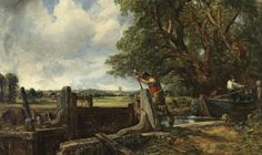 """Controversial Sale of John Constable's """"The Lock"""" Brings in Record-Breaking $35.2 Million at Christie's London"""