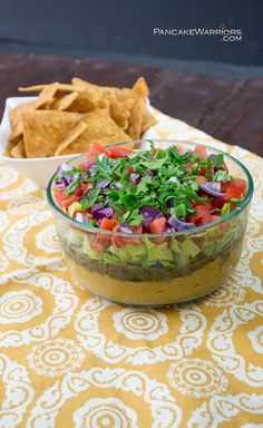 This Mediterranean Vegan Dip is the perfect party food. The bold flavors will instantly have everyone asking you for the recipe! This vegan, gluten free recipe is easy to make and will quickly disappear. Don't just wait till the weekend to serve this, it's great on pita with grilled veggies and your favorite protein for an easy, flavorful meal!| http://www.pancakewarriors.com