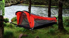 Crua Hybrid est l'innovation pour les baroudeurs souhaitant dormir au chaud et à l'épreuve de la pluie : dans les arbres ou au sol, cette tente/hamac fonctionne dans toutes les situations ! l
