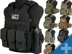 Avengers Tactical Vest with Magazine and Radio Pouches (Color: OD Green) . - Real Time - Diet, Exercise, Fitness, Finance You for Healthy articles ideas Police Tactical Vest, Tactical Clothing, Tactical Chest Rigs, Tactical Gear, Tactical Jacket, Tactical Survival, Military Gear, Military Equipment, Military Style