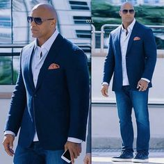 Dwayne the rock, the rock dwayne johnson, rock johnson, rock style men, Chubby Men Fashion, Large Men Fashion, The Rock Dwayne Johnson, Dwayne The Rock, Rock Johnson, Sharp Dressed Man, Well Dressed Men, Outfit Hombre Formal, Big And Tall Style