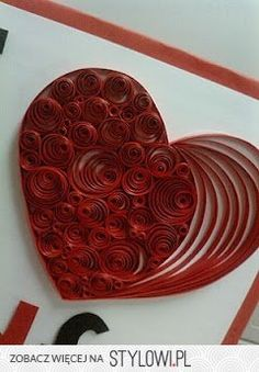 quilling - hearts na Stylowi.pl