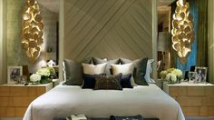 Proving neutrals can be powerful -  sconces are amazing -