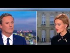 Dupont-Aignan quitte le JT de TF1 - YouTube