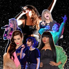 Pop goes feminist: why 2014 really has been a big year for women in music