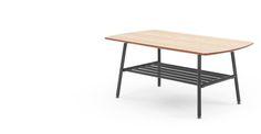 Haywood, table basse, frêne et gris | made.com