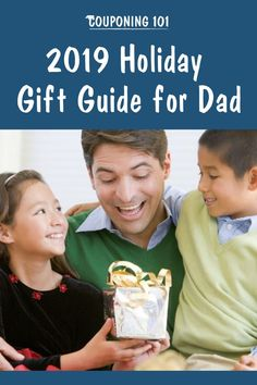 Use this 2019 Holiday Gift Guide for Dad to help you pick the best gift for the father in your life this holiday season! Holiday Deals, Holiday Gift Guide, Holiday Gifts, Father Love Quotes, Fathers Love, Ways To Save Money, Money Saving Tips, Couponing 101, Managing Your Money