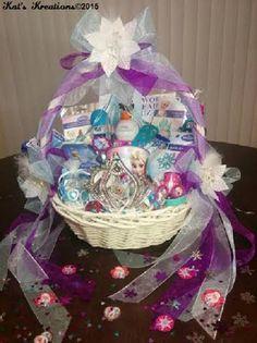 """""""Snow Queen Elsa"""" Gift Basket"""