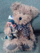 "E2m BOYDS T.J.S Best Dressed Rusty & Scardycrow 16"" Autumn Plush Teddy Bear"