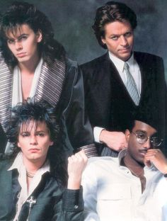 The Power Station: Robert Palmer, John Taylor and Andy Taylor from Duran Duran