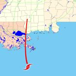 At approximately 6:10 a.m., Central Daylight Time, on August 29, 2005, Hurricane Katrina, a Category 4 storm packing  winds of 145 m.p.h., made landfall out of the Gulf of Mexico near Buras, Louisiana, and headed north towards  the historic city of New Orleans, Louisiana, and the state of Mississippi.  wem