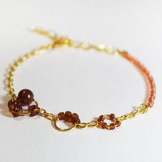 Bracelet couleur marron