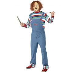 Disfraz de Chucky para Hombre (Licensed) para Halloween. Mens Halloween Chucky costume (licensed).