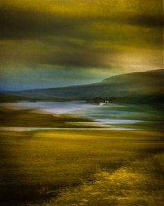 """""""The House in the Loch - Limited Edition 2 of by Lynne Douglas, Original Photography: Canvas on Color, Ink, fine art, Urban Landscape, Abstract Landscape, Landscape Paintings, Abstract Art, Landscape Design, Beautiful Landscape Photography, Artistic Photography, Fine Art Photography, Landscape Background"""