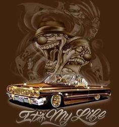 Arte Lowrider Drawings, Arte Lowrider, Car Drawings, Lowrider Trucks, Arte Cholo, Cholo Art, Chicano Art Tattoos, Chicano Drawings, Chicano Love