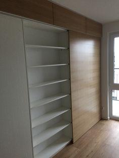 Aufbewahrungsmöbel Als Raumteiler Mit Schreibtisch