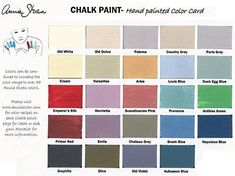 Annie Sloan Chalk Paint.  Loving this product....