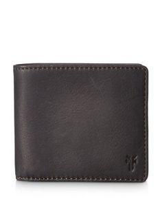 Frye Oliver Leather Bifold Wallet In Slate Leather Bifold Wallet, Slate, Mens Fashion, Shopping, Xmas, Products, Moda Masculina, Chalkboard, Man Fashion