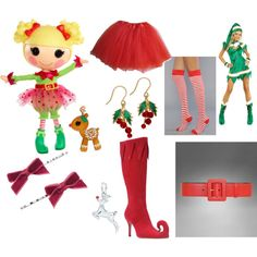 """Holly Sleighbells"" by flyingtoaster on Polyvore"