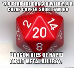Post with 3503 votes and 156026 views. Tagged with funny, dnd, phone dump; Shared by PyroPatriot. Tabletop Rpg, Tabletop Games, Starwars, Dungeons And Dragons Memes, Dnd Funny, Dragon Dies, Cosplay Anime, Nerd Humor, Haha