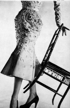 Dress by Christian Dior, photo by Henry Clarke