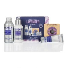L'Occitane Relaxing Lavender Kit