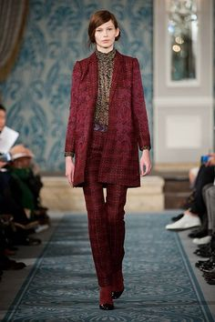 Tory Burch's rich, refined Fall 2013 collection