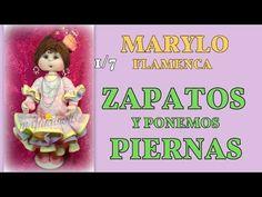 muñeca marylo flamenca , cuerpo del vestido 2/7, video- 255 - YouTube