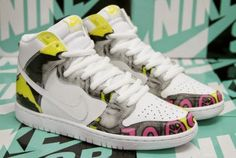 new product e571d 63d99 2015 Nike SB Dunk High De La Soul White Firefly Sneaker Available Now  (Detailed
